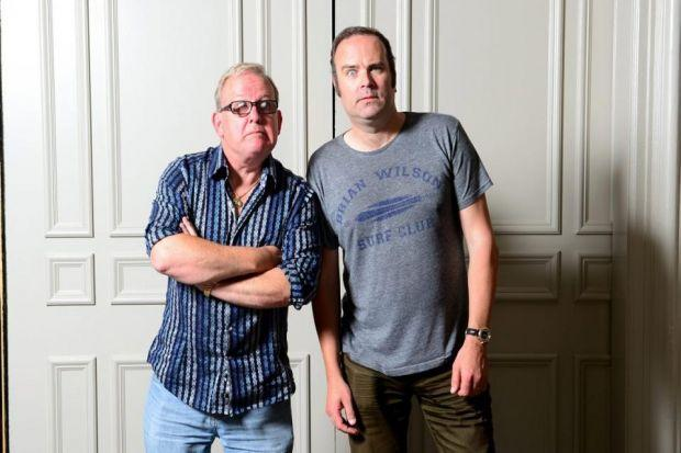 Ford Kiernan and Greg Hemphill say they are friends again after the split in their writing partnership