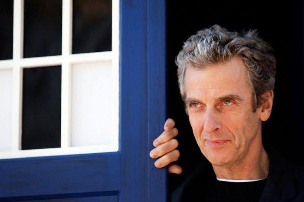 Peter Capaldi's Doctor is intense and short tempered at times, but also funny