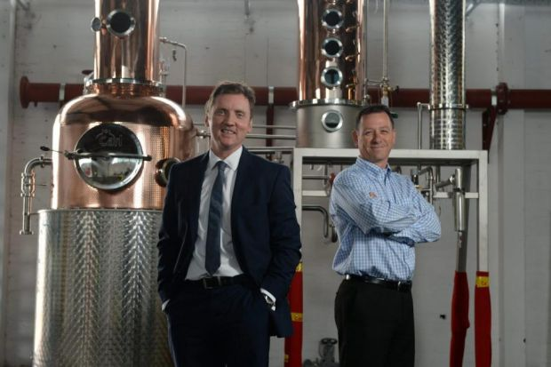 home-grown: Ian McDougall and Liam Hughes invested in state-of-the-art equipment for new venture. Picture: Nick Ponty