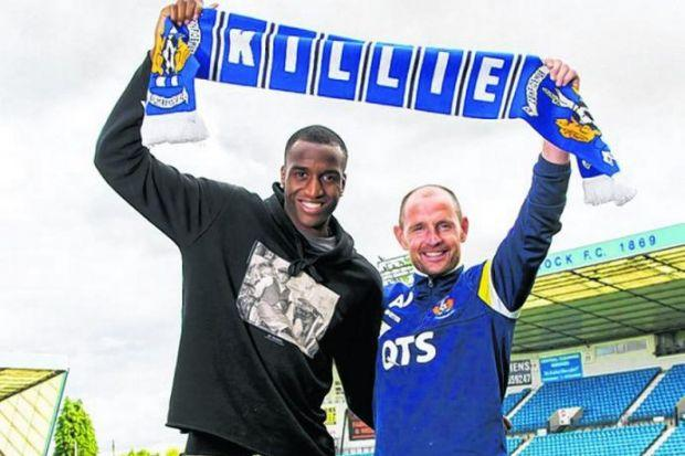Michael Ngoo will offer a greater aerial presence in the Kilmarnock attack after the ta