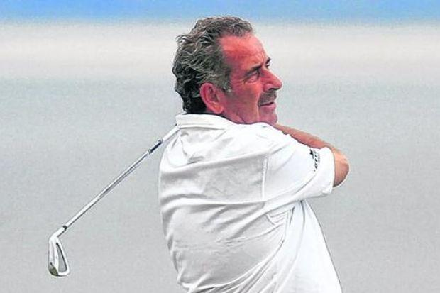 Sam Torrance could not believe he was nine shots down after five holes on the course he designed. P