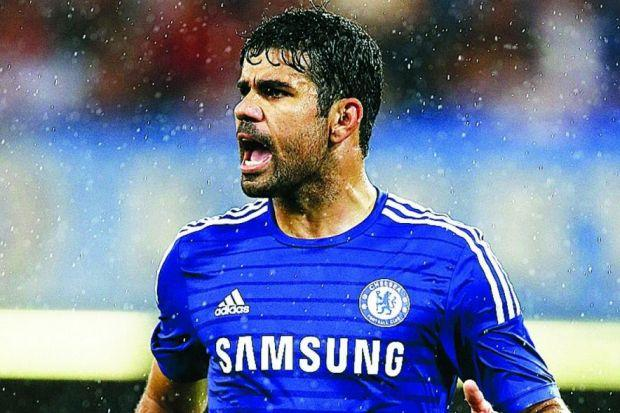 Diego Costa should be a breath of fresh air in the Chelsea attack Photograph: Getty