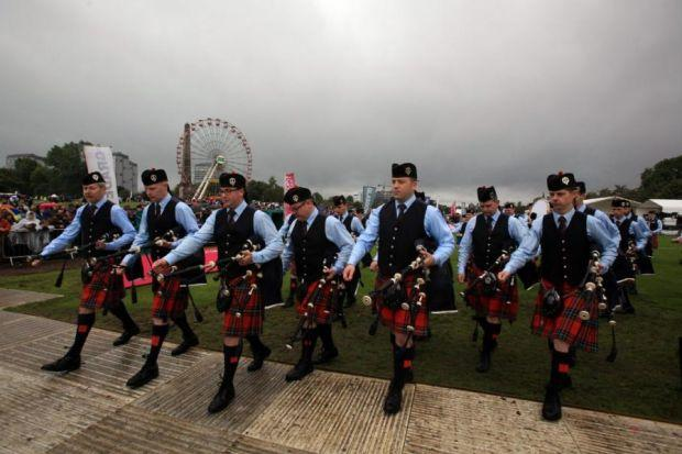 Ian Embelton, chief executive of The Royal Scottish Pipe Band AssociationPhotographs: Steve Cox