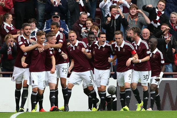 Hearts 2 Hibernian 1: Jambos win first Edinburgh derby of the Championship