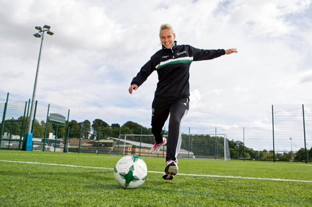 Onside: Stirling University appoints first female manager in British men's senior football