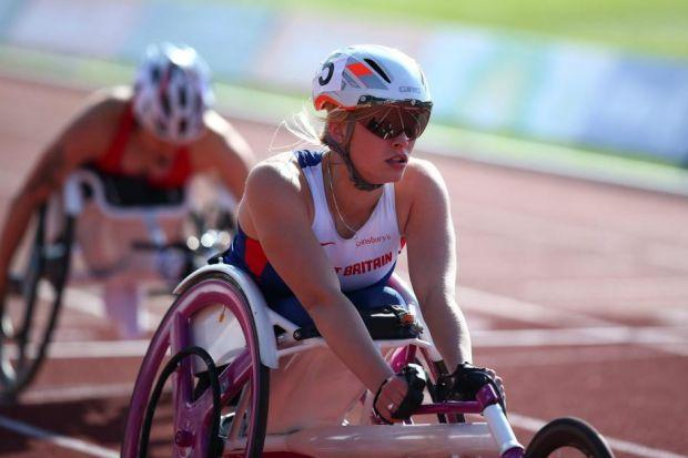 Sammi Kinghorn wants Paralympic gold at Rio 2016 and a world record. Picture: Getty Sport
