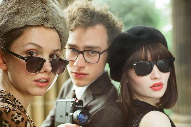 Hannah Murray as Cassie, Olly Alexander as James and Emily Browning as Eve in God Help The Girl