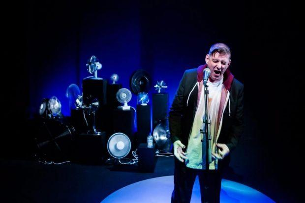 Chris Goode performs his narrative monologue Men In The Cities at the Traverse Theatre