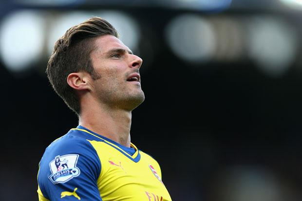 Arsenal face anxious Giroud wait as striker to miss CL qualifier