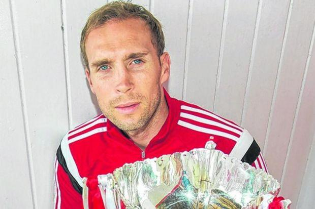IT'S OURS TO LOSE: Aberdeen captain Russell Anderson. Picture: SNS/Bill Murray