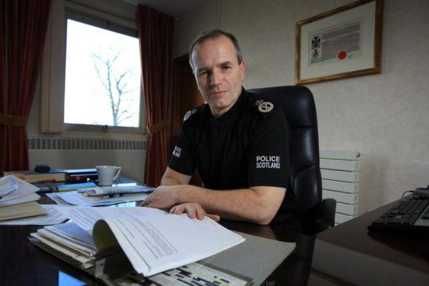 SIR STEPHEN HOUSE: Chief constable says the nature of crime has changed.