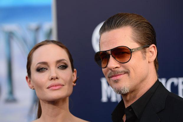 Mr and Mrs Pitt: Angelina and Brad confirm they are married