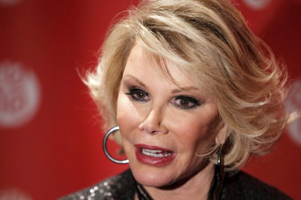 Joan Rivers has died, aged 81, after a week in intensive care