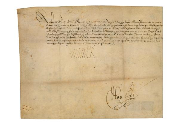 Mary Queen of Scots document is up for auction