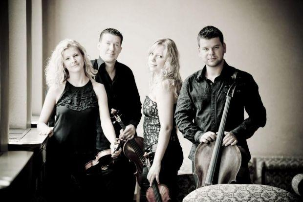 Pavel Haas Quartet: Great in the first half, but did not maintain quality of performance. Picture: Marco Borggreve
