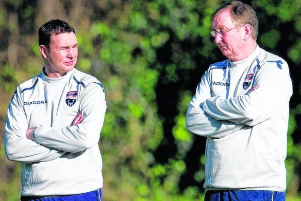 Like father like son: George and Derek Adams will mourn the los