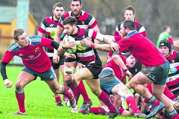 Stirling County have been left flying the flag for their region