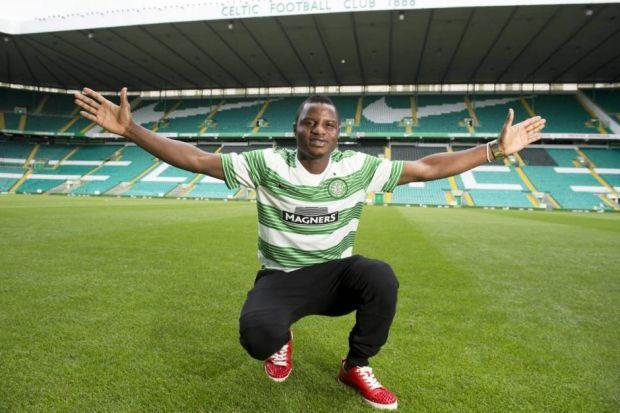 Wakaso Mubarak intends to stay at Celtic beyond the end of his season-long loan deal. Picture: SNS