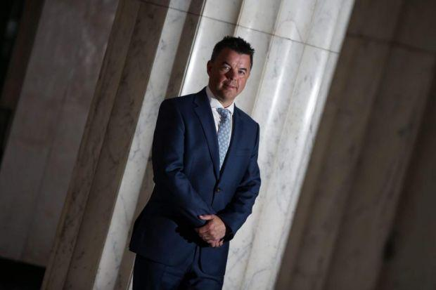 MOTORING: Philip Grant, of Lloyds Banking Group, has had a successful career in banking after starting out working in branches as a teenager.