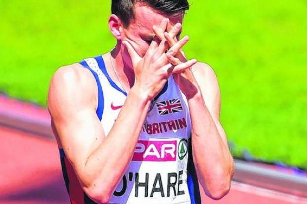 Chris O'Hare, European bronze medallist, believes British athletes are not putting in the hours. Picture: PA
