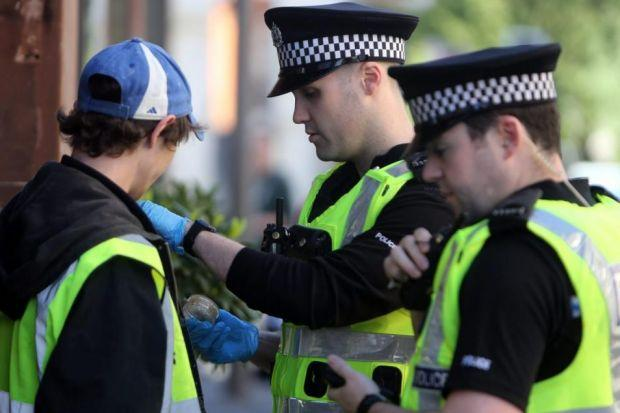 Police Scotland has said the stop and search policy is 'intelligence-led'