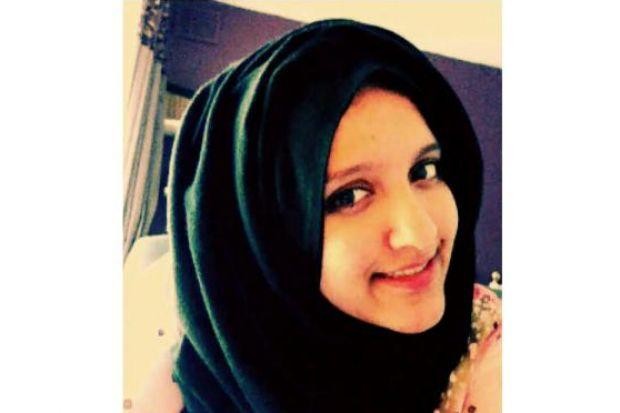 TWITTER CAMPAIGN: Aqsa Mahmood, who was reported missing last year.