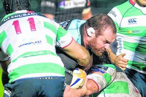Benetton Treviso have struggled to repel the full force of sides such as Glasgow in previous seasons. Picture: SNS Group/SRU