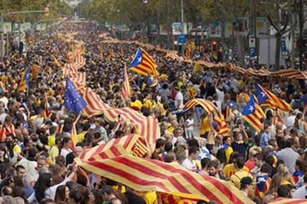 Half a million Catalans sign up for pro-independence rally