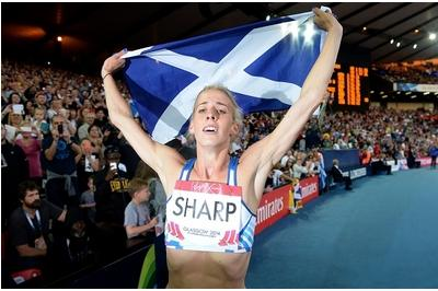 Silver medallist Lynsey Sharp: FM's being unfair to No-voting Scots with his Team Scotland label