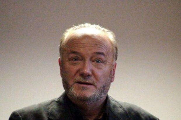 ATTACK: George Galloway was punched in the face and kicked