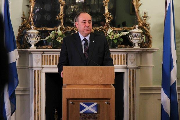 Salmond: I quit as First Minister and SNP leader