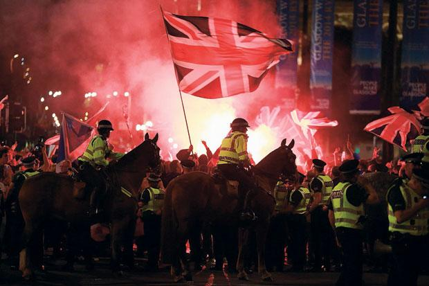 George Square Trouble: The night our readers became reporters