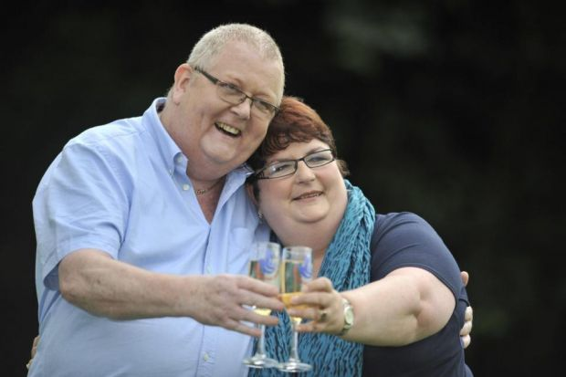 BIG SPENDERS: EuroMillions winners Colin and Chris Weir