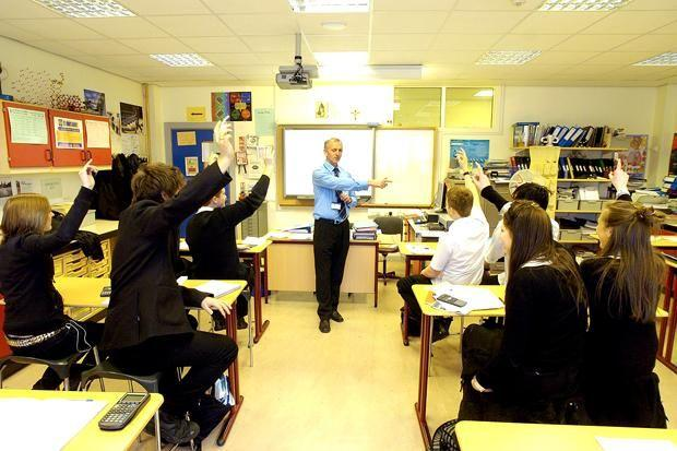 CLAss crisis: Parents claim there is a shortage of teachers across Scotland.