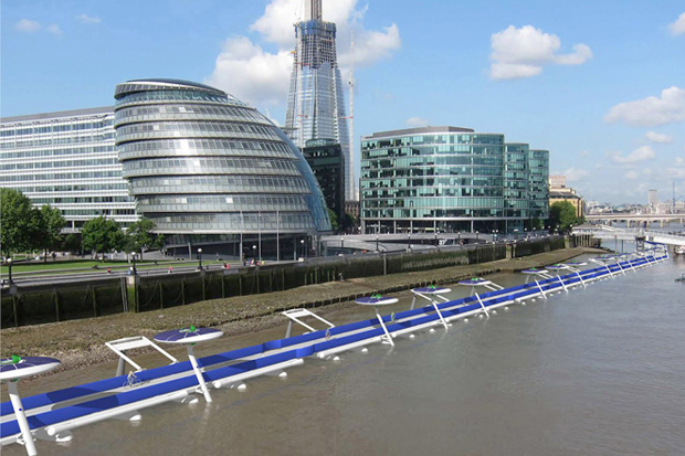 The proposed Thames Deckway