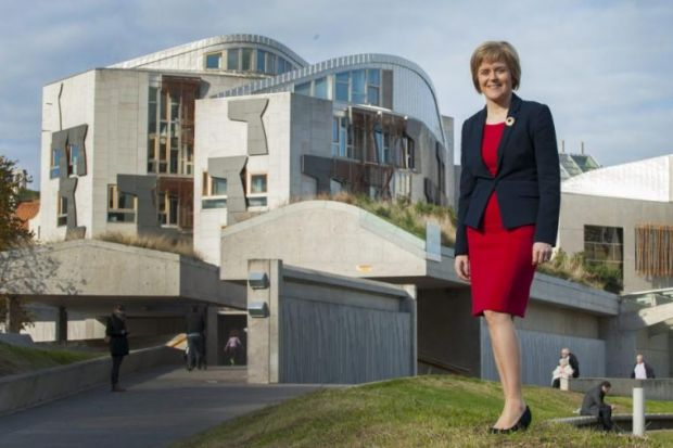 NICOLA STURGEON: Just under one-quarter of those questioned said they trusted her most to deliver more powers. Picture: Julie Howden