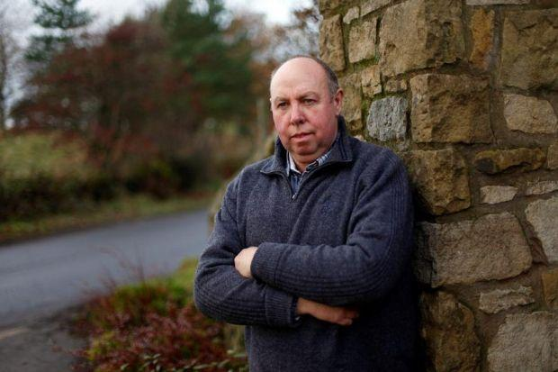 VICTORY: Property developer Ian McDonald said RBS had put him through hell for four years. Picture: Mark Mainz