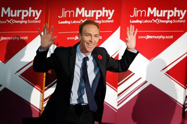 Jim Murphy MP formally launches his campaign to become Scottish Labour Leader and First Minister of Scotland at the Royal College of Surgeons in Edinburgh