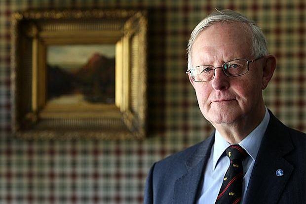 vision: Former SNP leader Gordon Wilson believes the SNP's strategy for achieving independence should have been to raise the profile of Scottish identity. Picture: Stewart Attwood