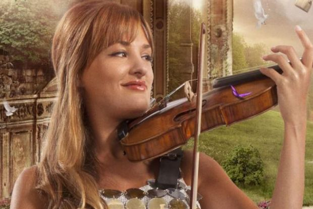Top form: Nicola Benedetti delivered a blisteringly intense performance of Shostakovich's First Violin Concerto.