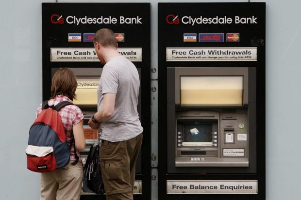 plan: National Australia Bank has said it wants to press ahead with the sale of Clydesdale Bank. Picture: Colin Mearns