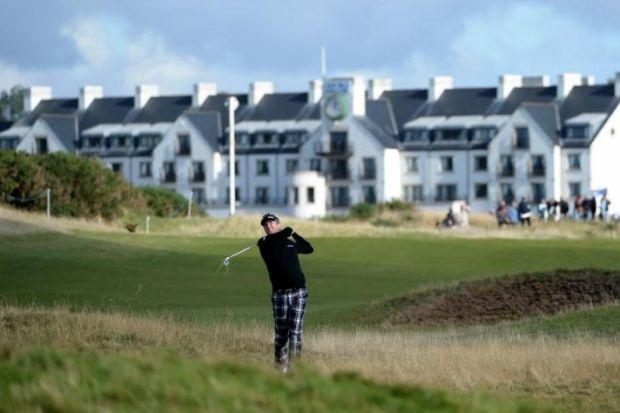 Carnoustie Golf Links  in Angus was among three courses that breached their water licences in 2013Photograph: Ross Kinnaird/Getty Images