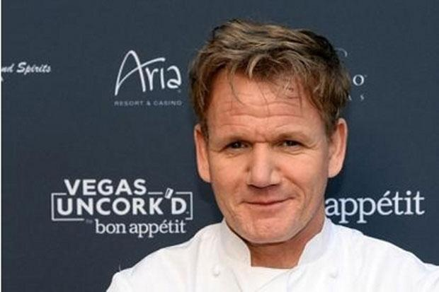 Gordon Ramsay serves up his support for Rangers supporters group