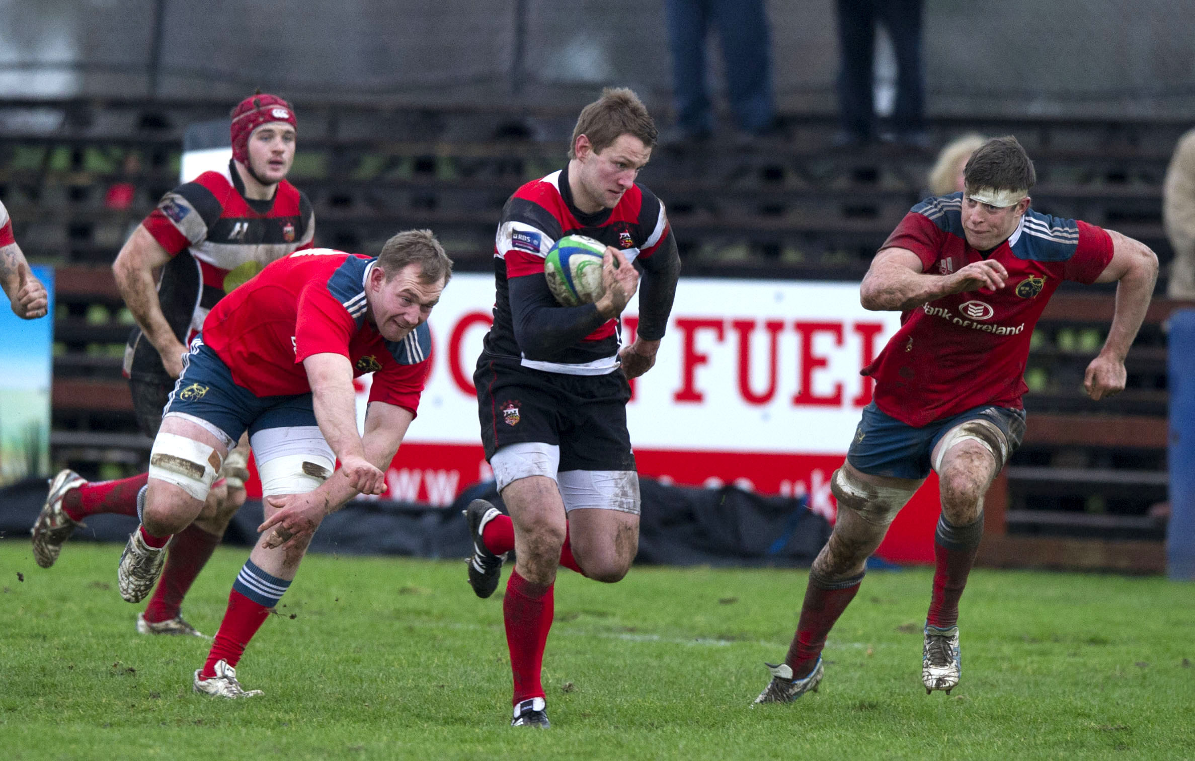 Good performances for Stirling County alerted Glasgow Warriors to Fraser Lyle