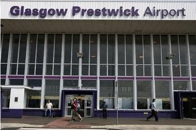 Prestwick Airport in Ayrshire is one of three Scottish sites still being considered as a permanent base for the UK spaceport
