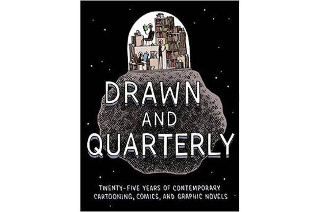 Tom Gauld's cover for Drawn & Quarterly's bumper compilation
