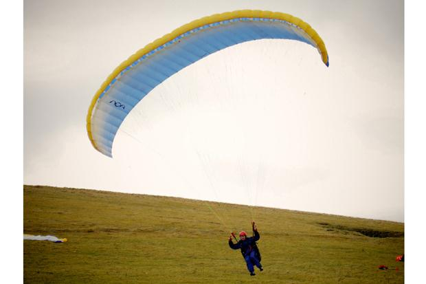 Paragliding: nerves and the art of flying them