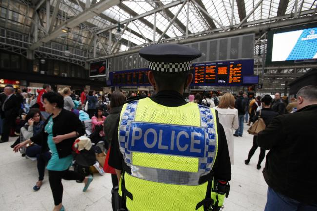 British Transport Police was praised for its use of stop and search
