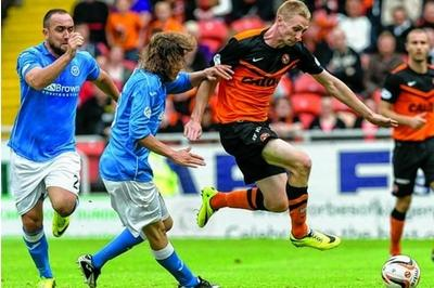 Dundee United's Chris Erskine desperate for European spot after rise from Junior football