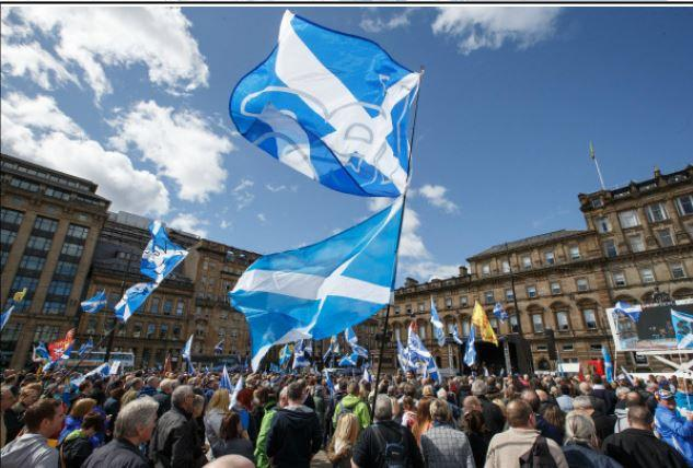 Pro-independence rally did not have permission from Glasgow Council